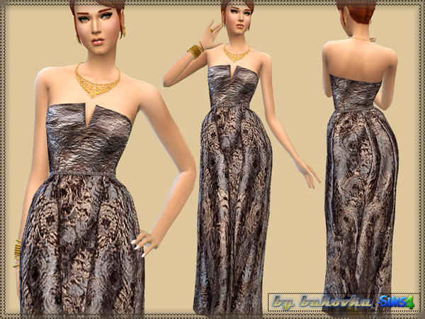 Brocade Dress by bukovka