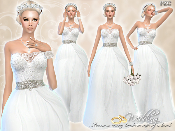 Wedding Dress Endless Elegance by Pinkzombiecupcakes