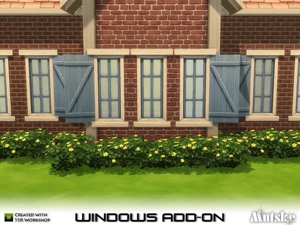 EA Window Add-on Part 2 by mutske
