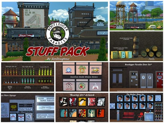 Paradise Stuff Pack by SimDoughnut
