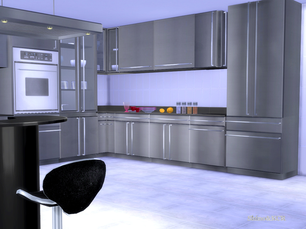 Stainless Steel Kitchen by ShinoKCR