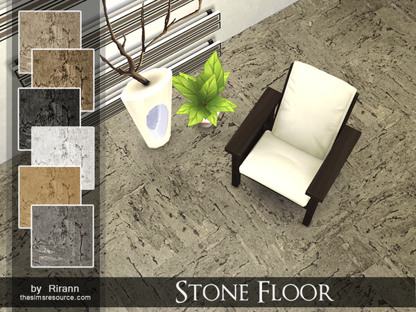 Stone Floor by Rirann