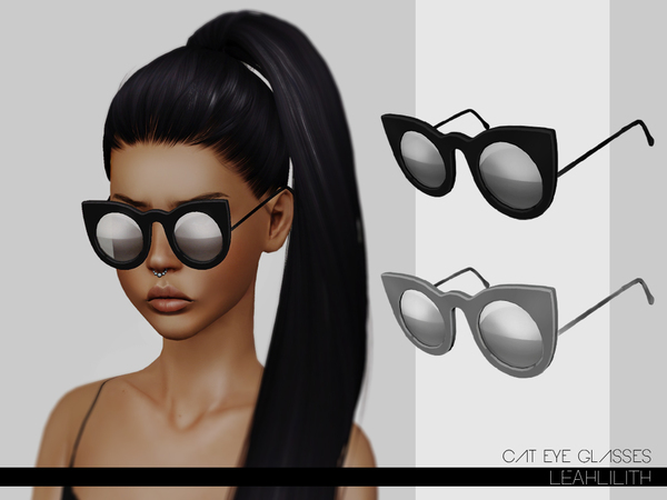 LeahLillith Cat Eye Glasses by Leah Lillith