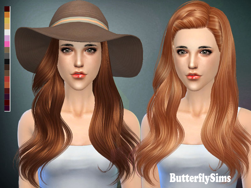 Butterflysims 144 Hair for Females