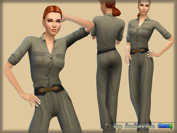 Safari Jumpsuit by bukovka