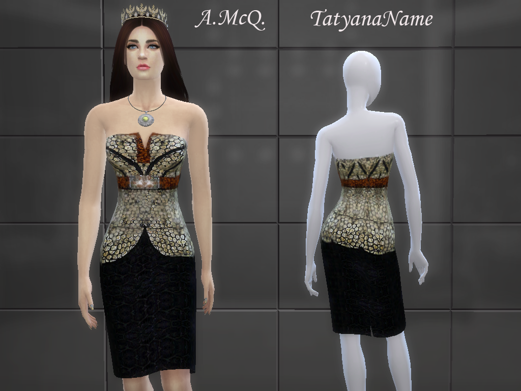 A McQ Dress by TatyanaName