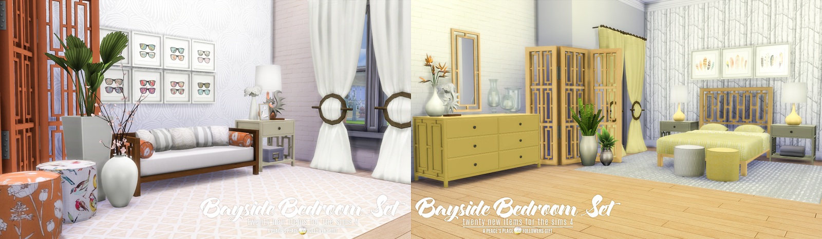 Bayside Furniture Set - 20 New Items by Peacemaker ic