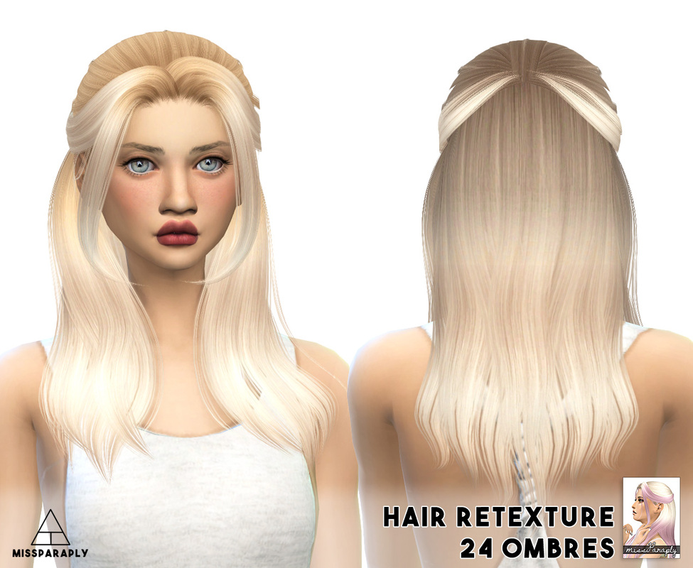 Alesso Nana Hair Retexture by MissParaply