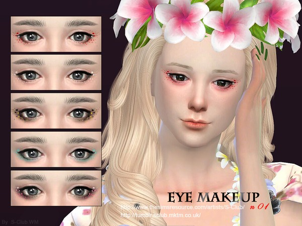 S-Club WM ts4 eye makeup 01