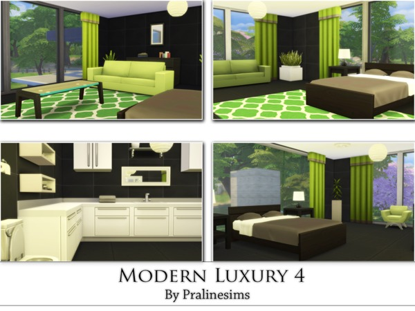 Modern Luxury 4 by Pralinesims