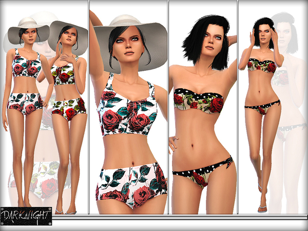SET 02 - Printed Bikini Set by DarkNighTt