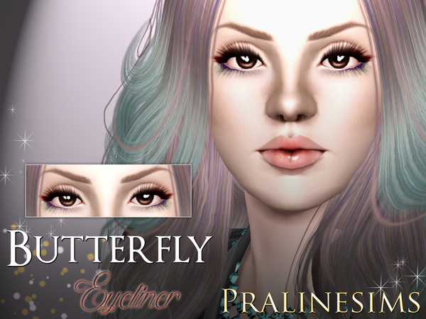 Butterfly Eyeliner- by Pralinesims