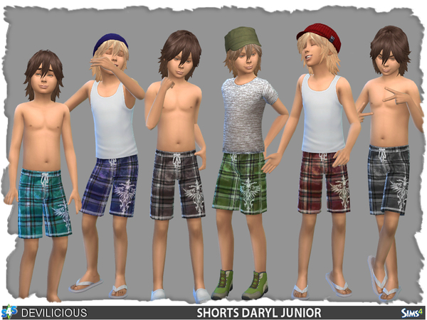 Shorts/Bermuda Daryl Junior by Devilicious
