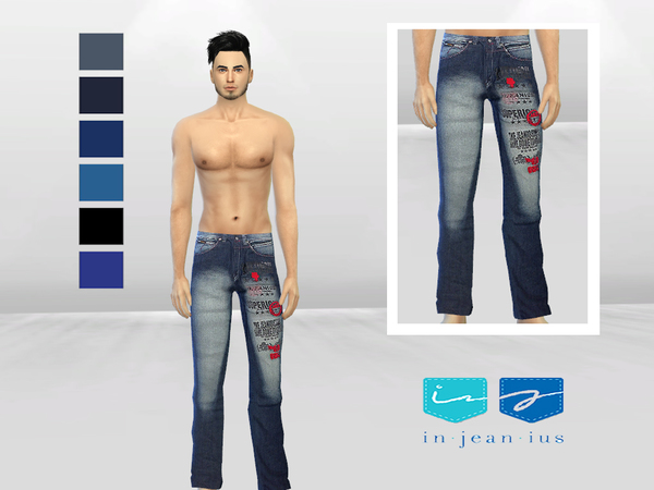 AKD-0984 Denim Jeans by McLayneSims