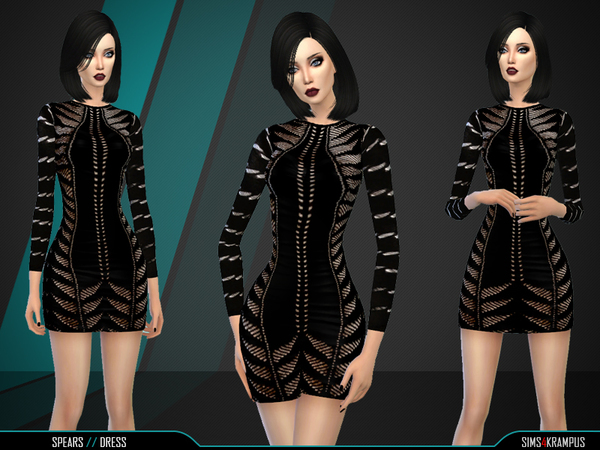 Spears Dress by SIms4Krampus