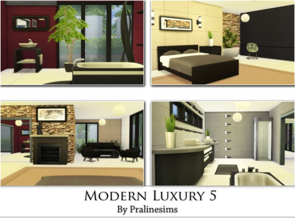 Modern Luxury 5 by Pralinesims