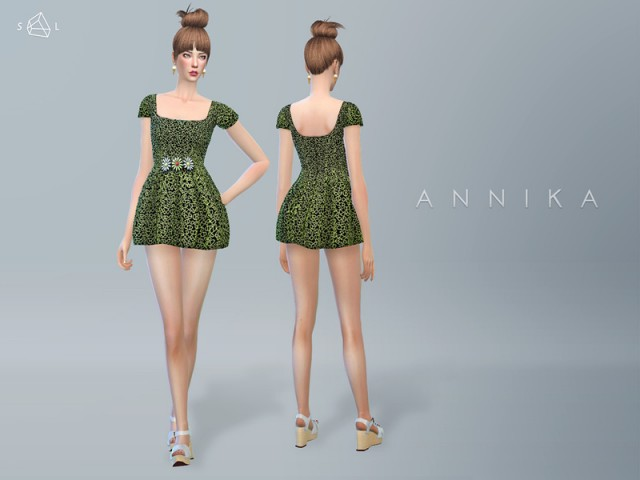 Short Dress ANNIKA by starlord