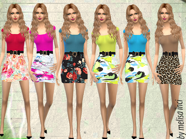 Floral Print Bodycon Dress by melisa inci