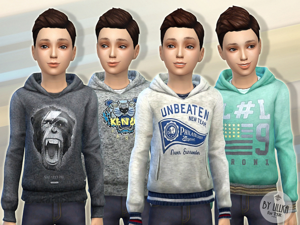 Hoodie for Boys P03 by lillka