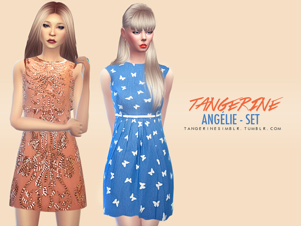 Anglie - Set by tangerinesimblr