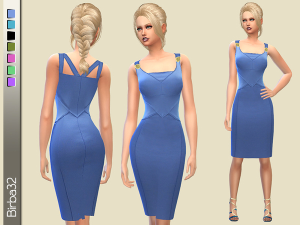 Bluette Pencil Dress by Birba32