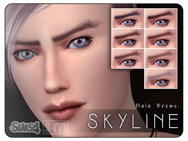 [ Skyline ] - Male Brows by Screaming Mustard