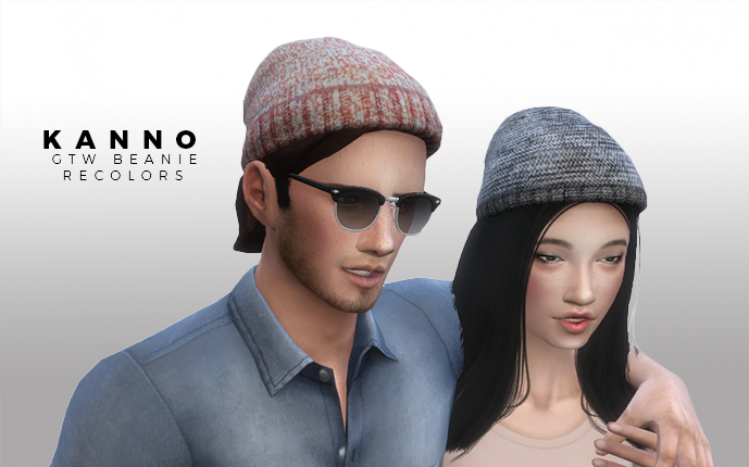 GTW Beanies Recolors for Males & Females by Kanno