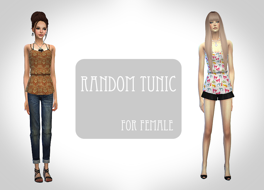 Tunic for Females by Chiissims