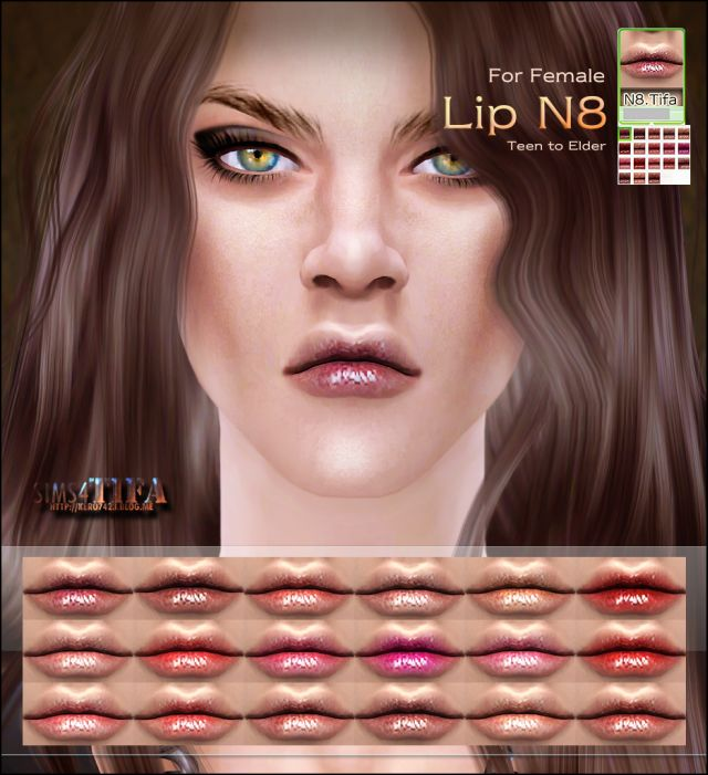 Lip N8 by Tifa