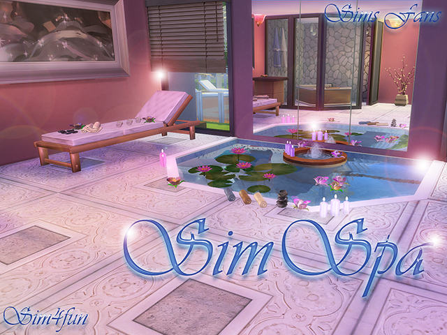 Sim Spa Set by Sim4Fun