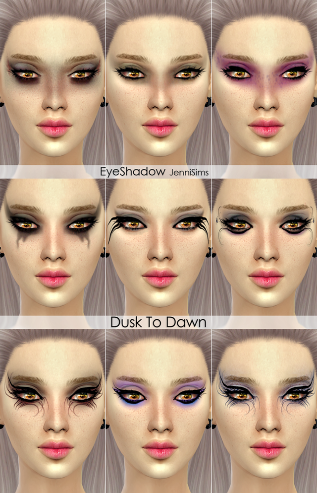 Makeup Dusk To Dawn EyeShadow Male/Female by Jennisims