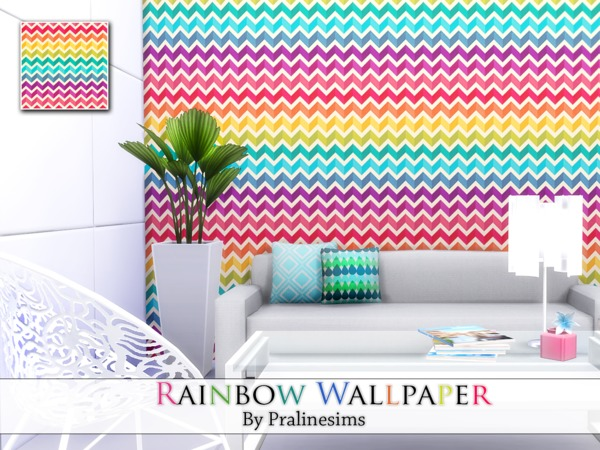 Rainbow Wallpaper by Pralinesims