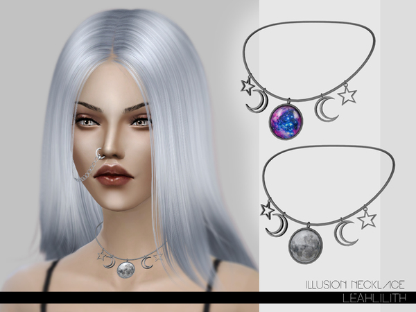 Illusion Necklace by Leah Lillith