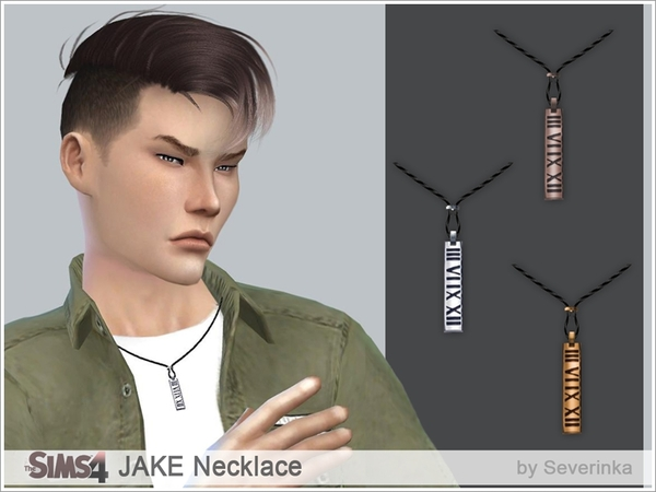 JAKE Necklace by Severinka