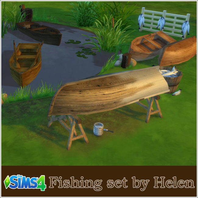 Fishing set by Helen