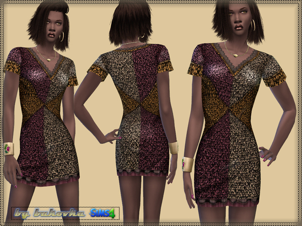 Dress Sequins by bukovka