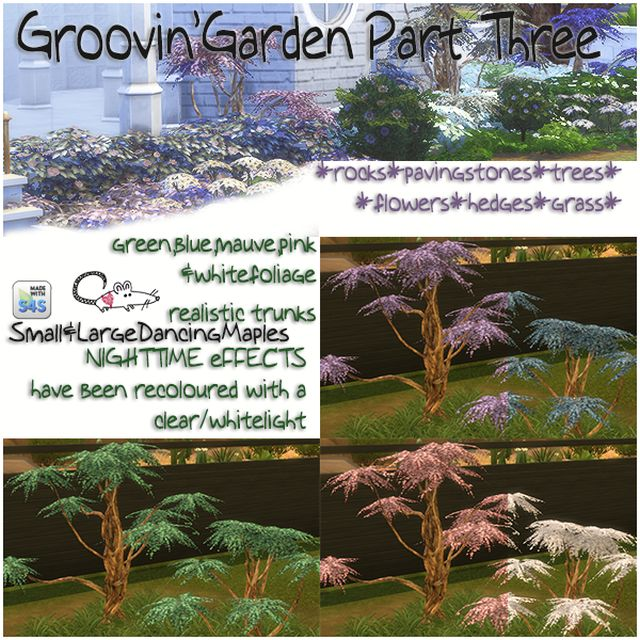 Groovin' Garden Set Part Three by LoveratSims4