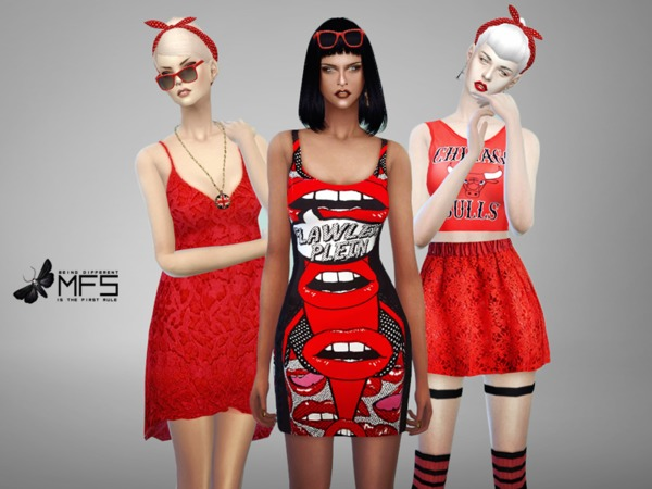 MFS Red Mood Collection by MissFortune