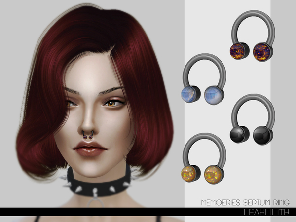 LeahLilith Memories Septum Ring by Leah Lillith
