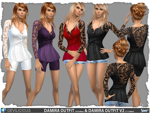 Damira Outfit Set by Devilicious