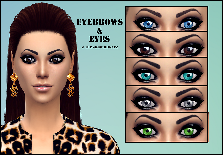 Eyes & Eyebrows от Mrs Faraday