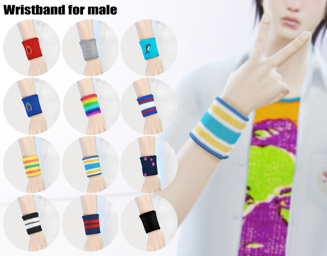 Wristband for male by imadako