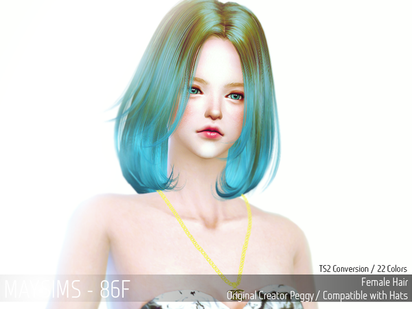 Hair 86 Female от MaySims