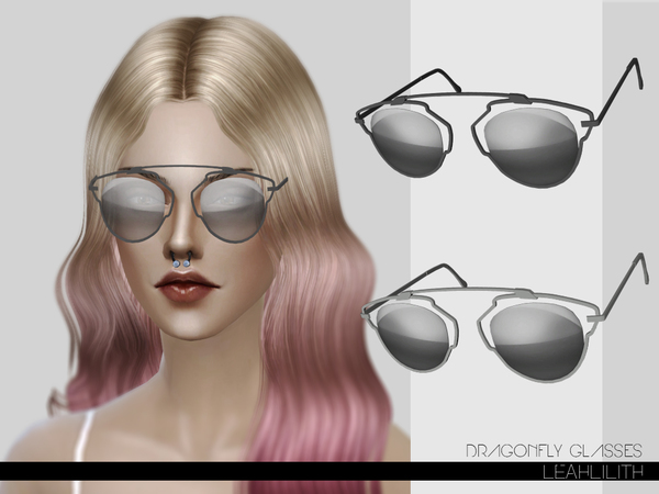 LeahLilith Dragonfly Glasses by Leah Lillith