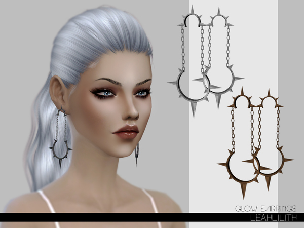 LeahLilith Glow Earrings by Leah Lillith