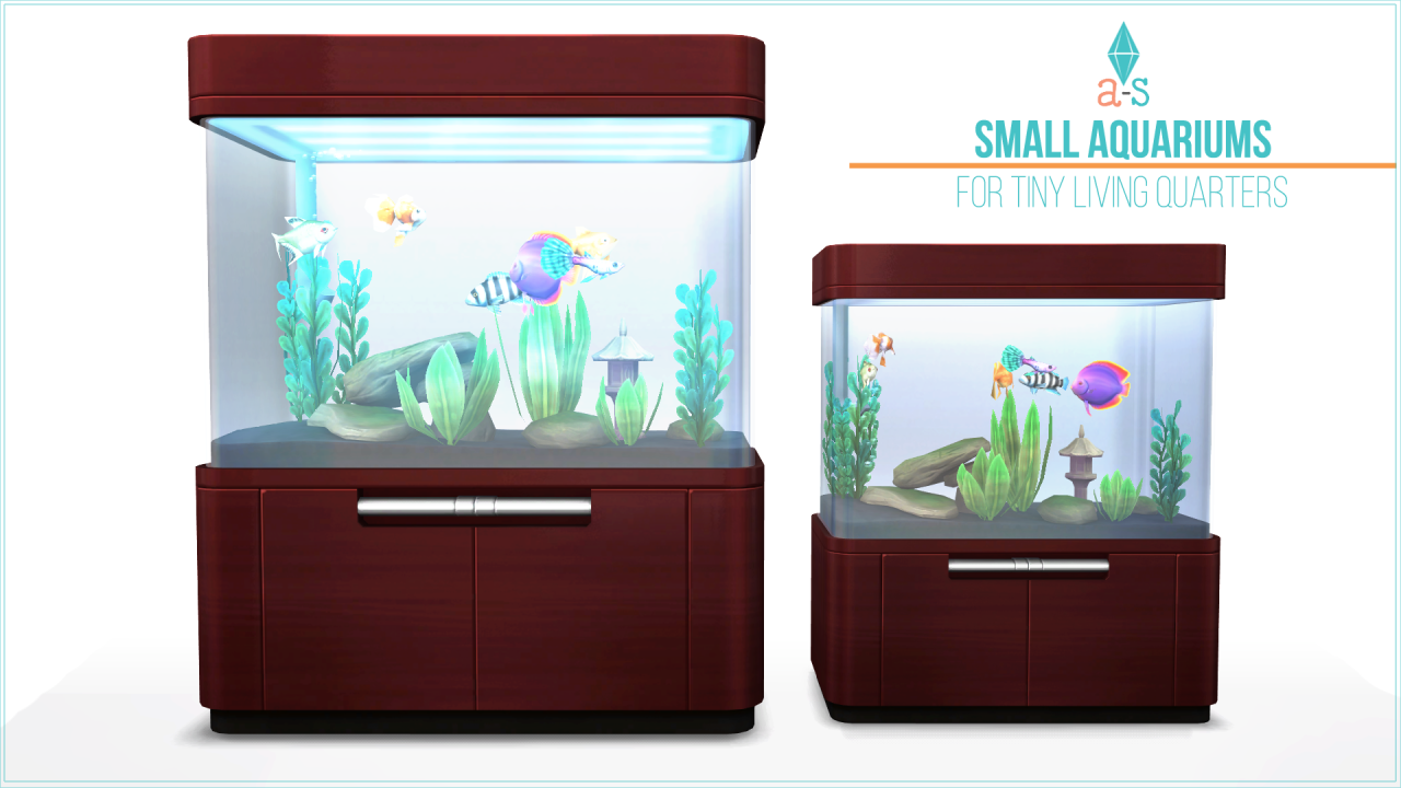 Smaller Version Aquariums by ajoya-sims