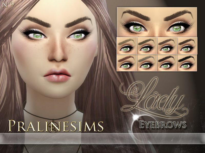 Lady Eyebrows BY Pralinesims