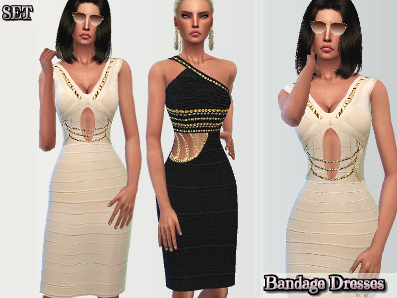 Classy Bandage Dresses BY Puresim
