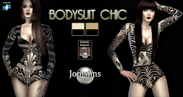 Chic Bodysuit by JomSims