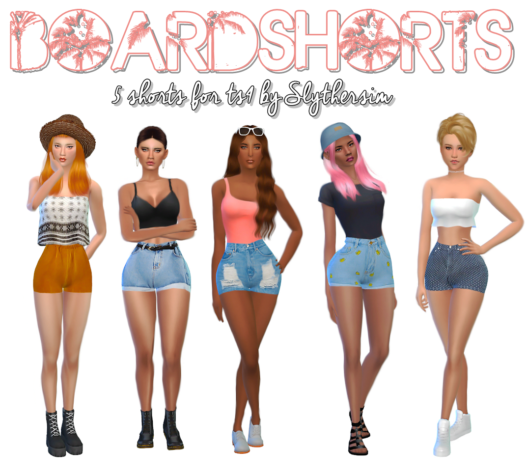 Shorts for Females by SlytherSim